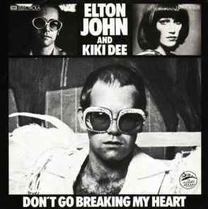 Elton John and Kiki Dee - Don't Go Breaking My Heart