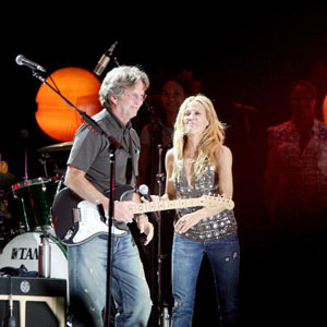 Sheryl Crow And Eric Clapton - Run Baby Run
